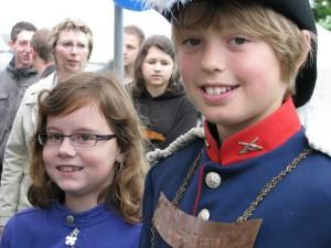 Koning Teun en Koningin Sascha