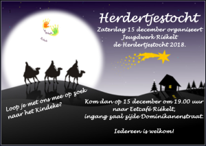 Flyer herdertjestocht 2018